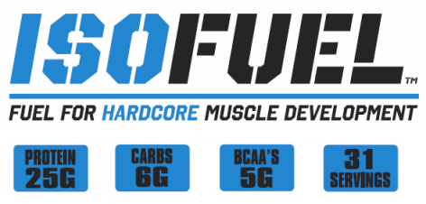 ISO-FUEL - Fuel for Hardcore Muscle Development